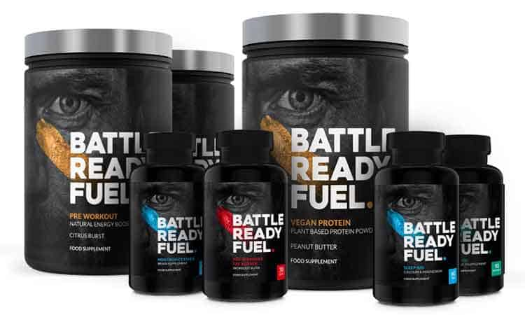 battle Ready Fuel complete product range